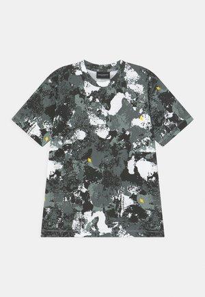 ALL CAMOU - T-shirt print - black