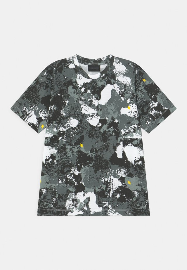 ALL CAMOU - T-shirts med print - black