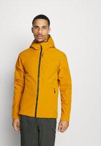 adidas Performance - Soft shell jacket - gold - 0