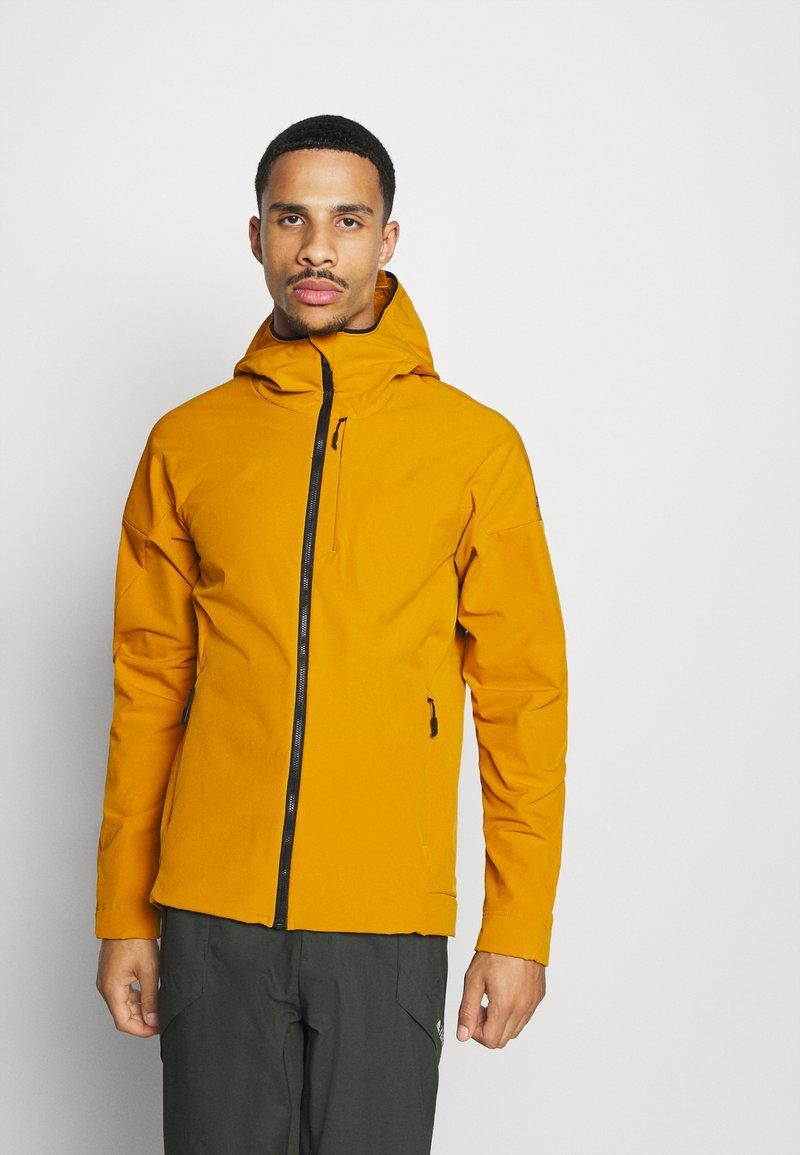 adidas Performance - Soft shell jacket - gold