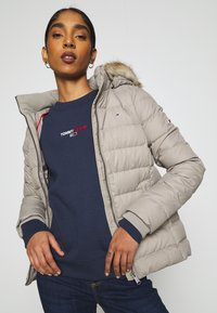 Tommy Jeans - BASIC - Down jacket - mourning dove - 4