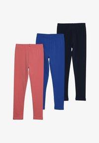 Friboo - SOLID 3 PACK  - Leggings - Trousers - desert rose/nautical blue - 4