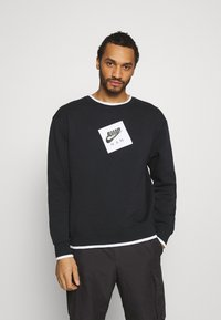 Jordan - CREW - Sweatshirt - black/white - 0