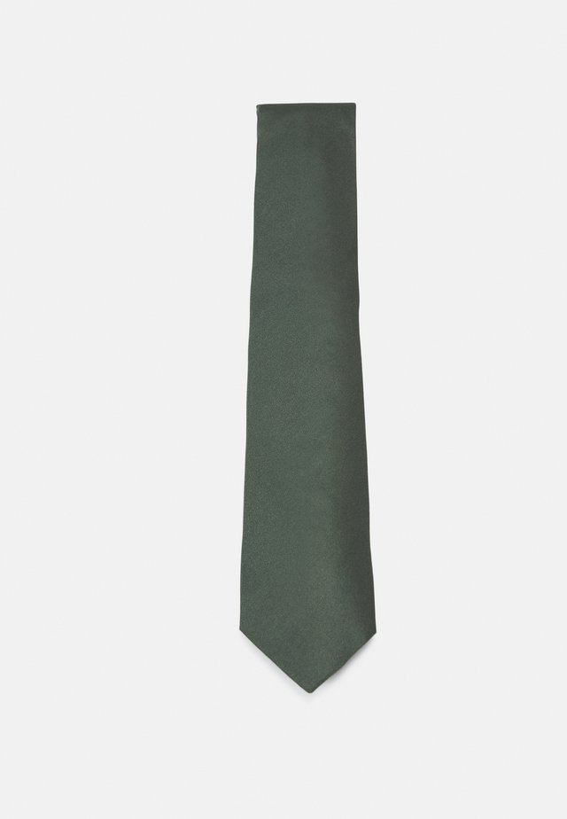 SAPPHIRE SOLID - Tie - forest