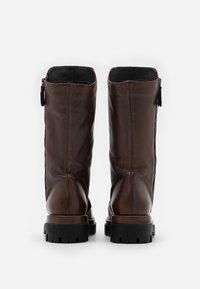 lilimill - ASTRID - Platform boots - sidney brown - 3