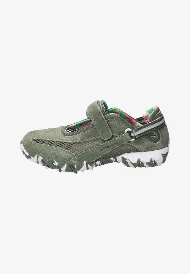 NIRO - Ankle strap ballet pumps - grün