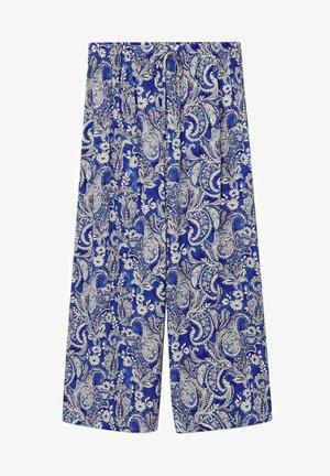 FLOWY - Pantalon classique - blue