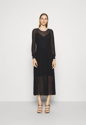 THORA LUCIA DRESS - Maxikjoler - black