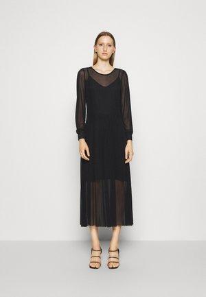 THORA LUCIA DRESS - Maxi šaty - black