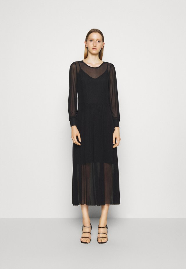 THORA LUCIA DRESS - Maxi dress - black