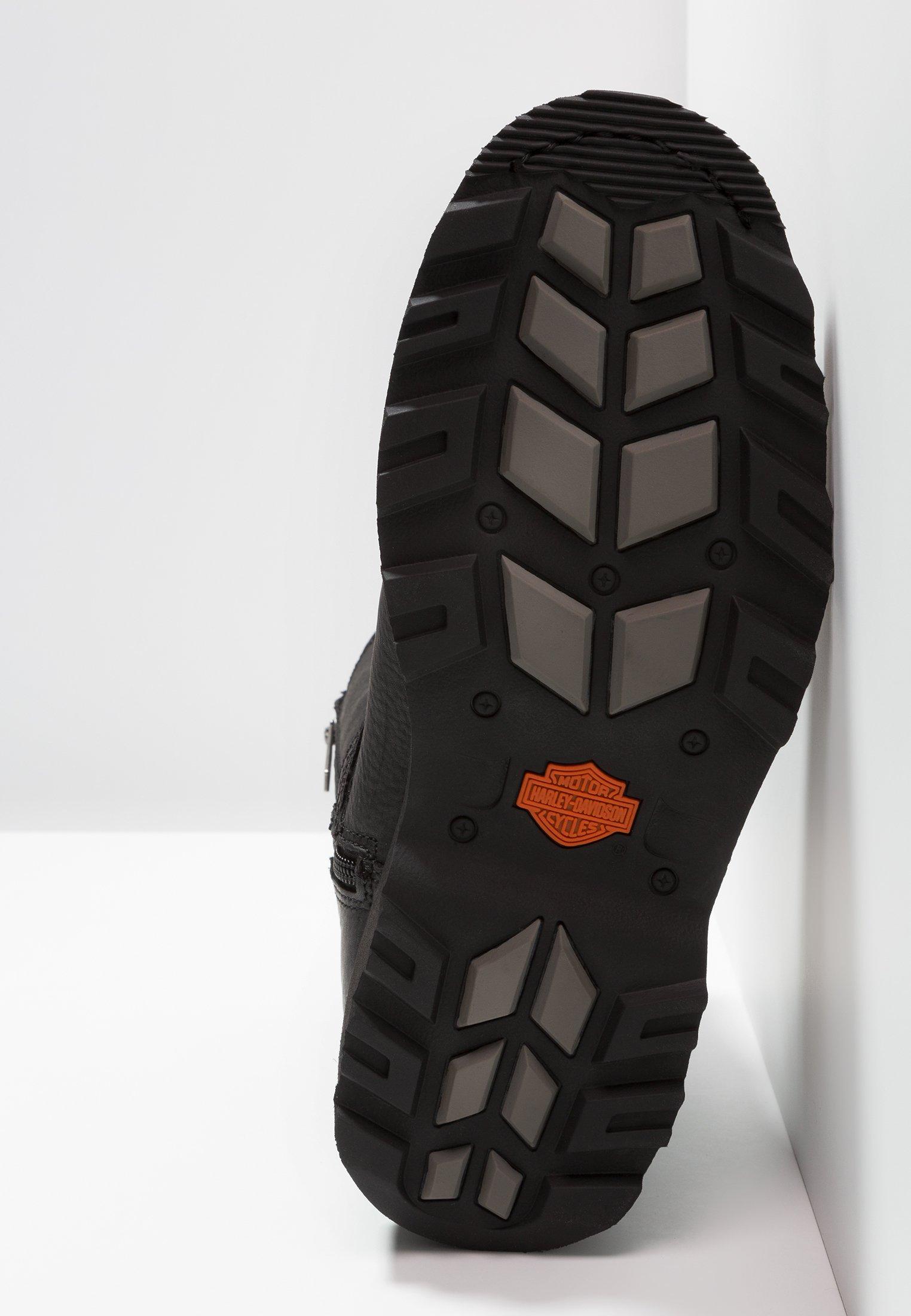 Shop Cheapest Harley Davidson RICHTON - Cowboy/biker ankle boot - black | men's shoes 2020 qtbgp