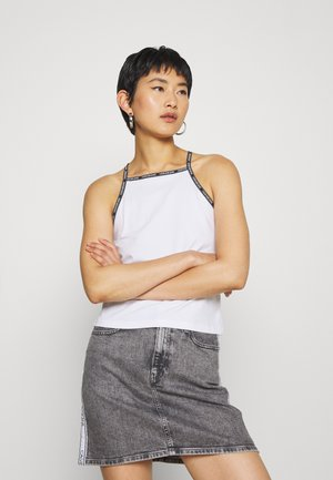 LOGO TRIM TANK - Top - bright white