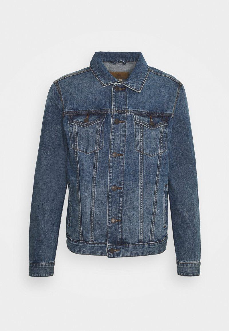 Springfield - TRUCK - Džínová bunda - medium blue