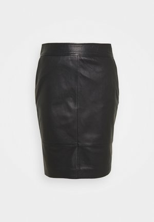 FRANCIE MINI SKIRT - Pencil skirt - black