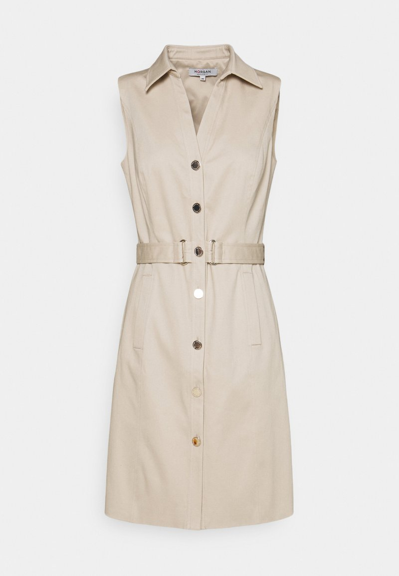 Morgan - Shirt dress - ficelle