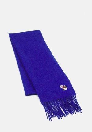 WOMEN SCARF ZEBRA PATCH - Scarf - blue