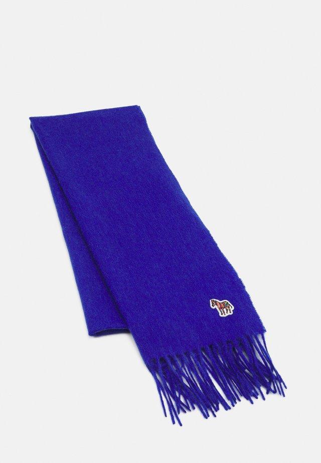WOMEN SCARF ZEBRA PATCH - Šála - blue