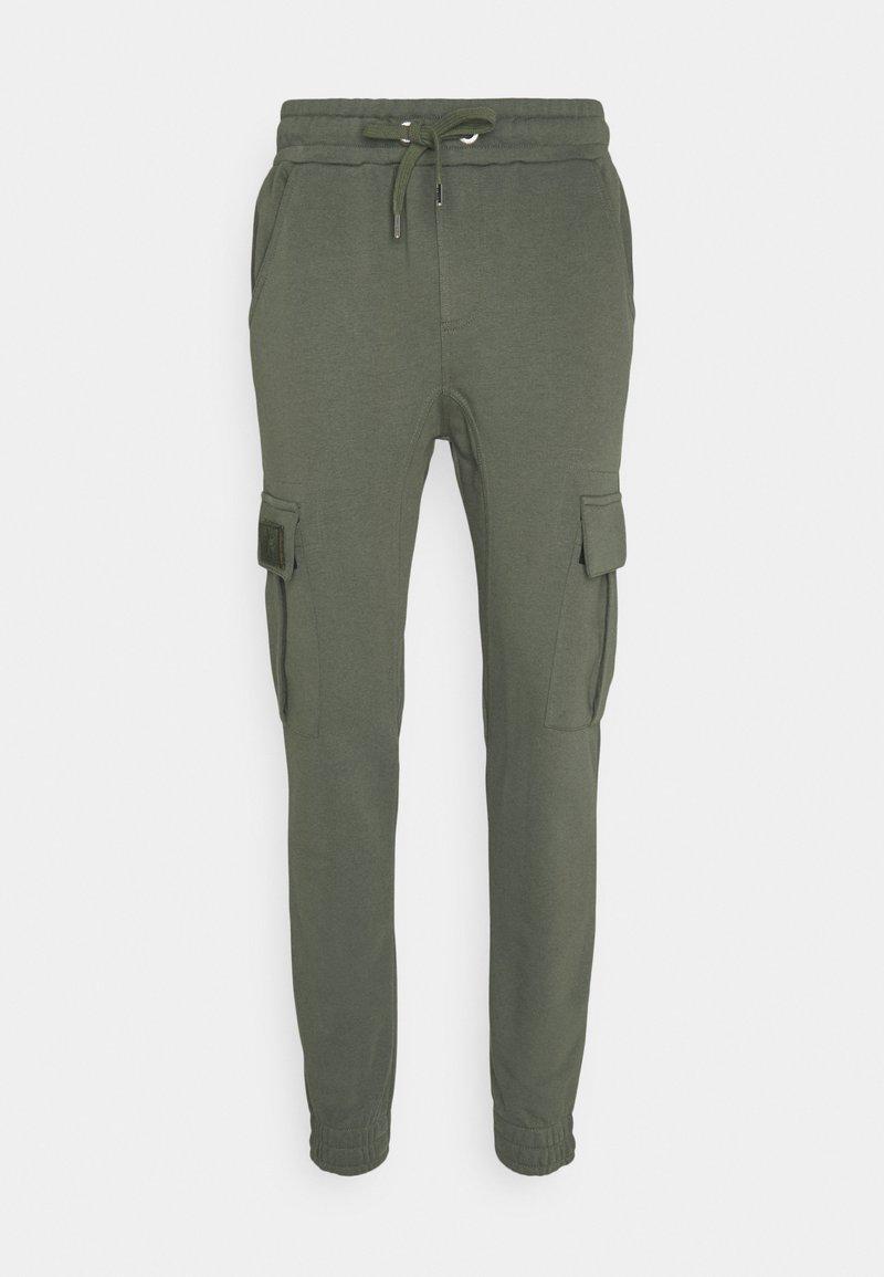 Alpha Industries - TERRY JOGGER - Pantaloni sportivi - dark olive