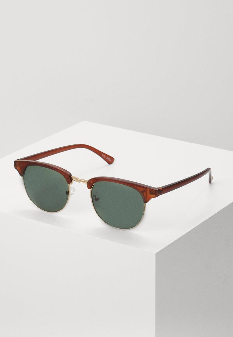 Zign - Sluneční brýle - brown/green