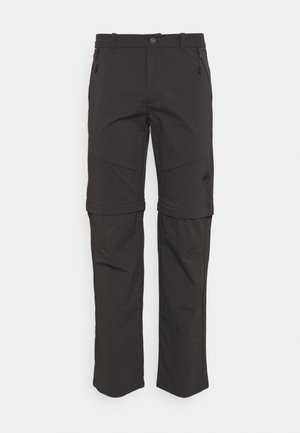 HIKING ZIP OFF PANTS MEN - Trousers - phantom