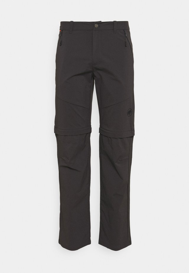 HIKING ZIP OFF PANTS MEN - Tygbyxor - phantom