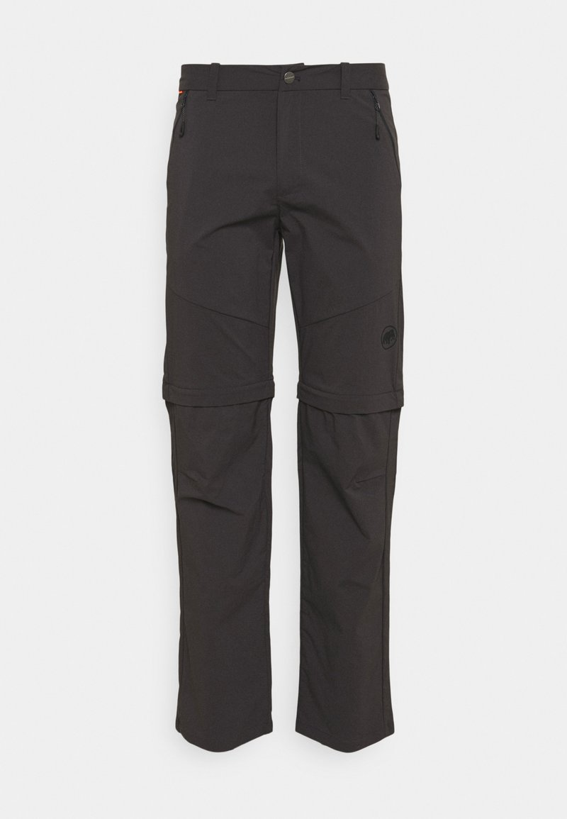 Mammut - HIKING ZIP OFF PANTS MEN - Trousers - phantom