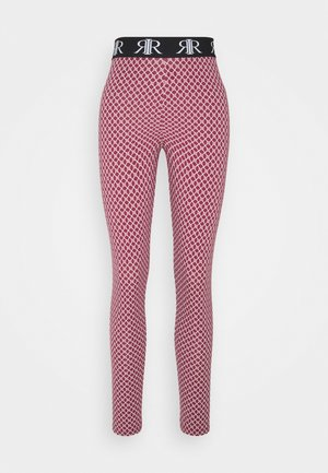 LOGO LEGGING - Leggings - Trousers - pink