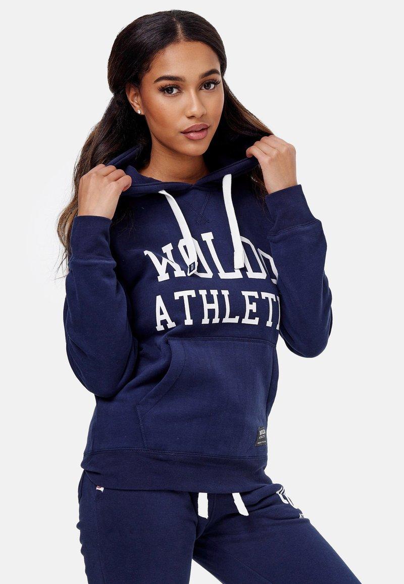 Woldo Athletic - Hoodie - blue