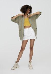 PULL&BEAR - IM WORKWEAR LOOK - Summer jacket - khaki - 1
