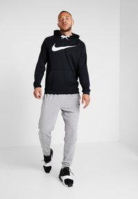Nike Performance - DRY PO - Hoodie - black/white - 1