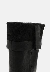 Shabbies Amsterdam - Vysoká obuv - black - 4
