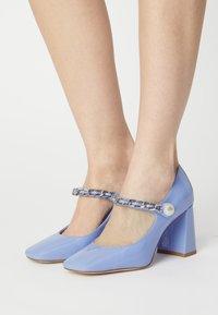 Jeffrey Campbell - BOURDIN - Classic heels - periwinkle - 0