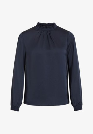 VISOFIE HIGH NECK SMOCK  - Blouse - navy blazer