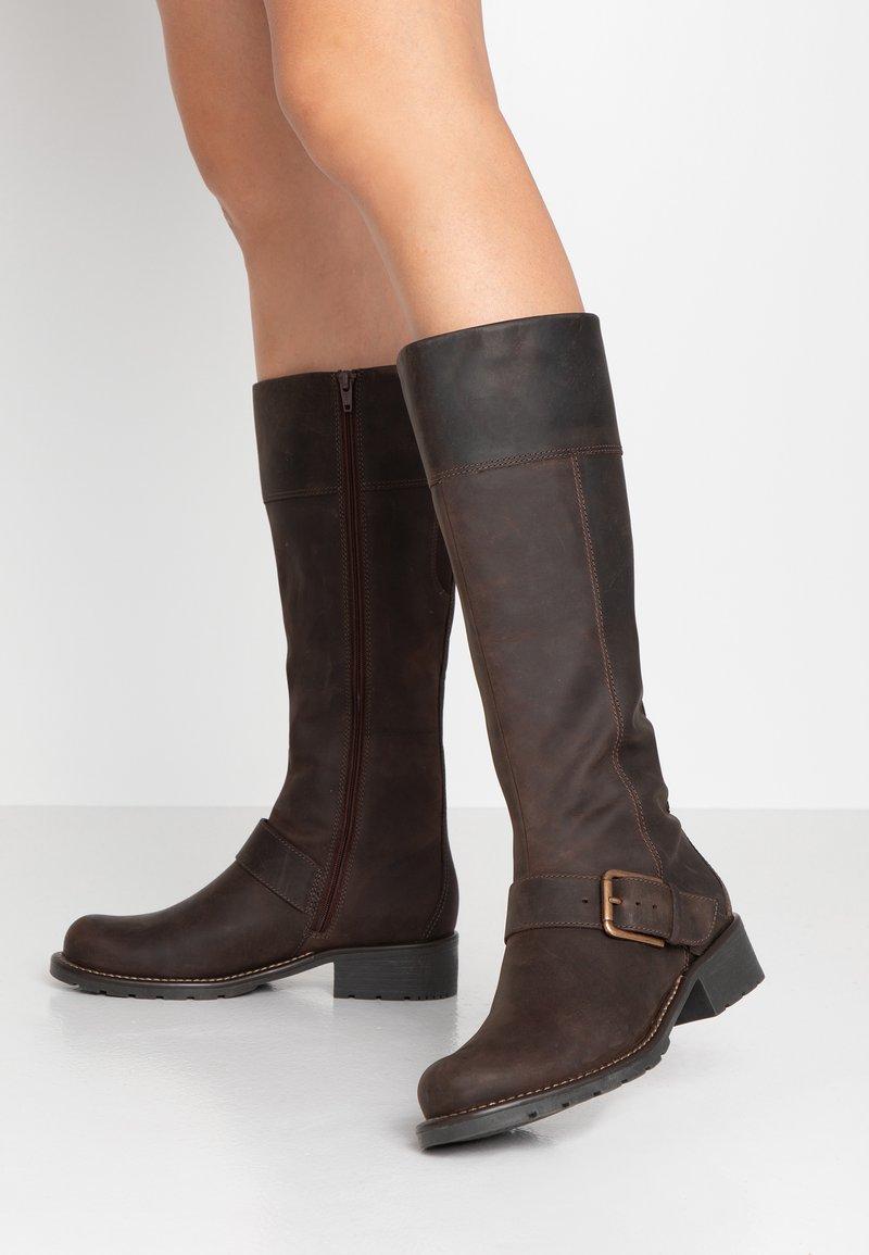 Clarks - ORINOCO JAZZ - Botas - dark brown