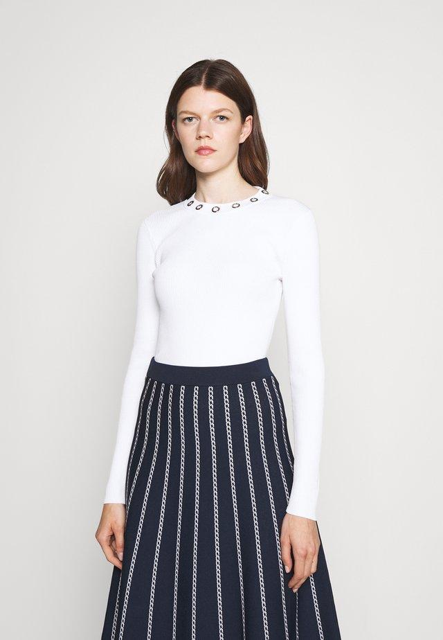 GROMMET - Jersey de punto - white
