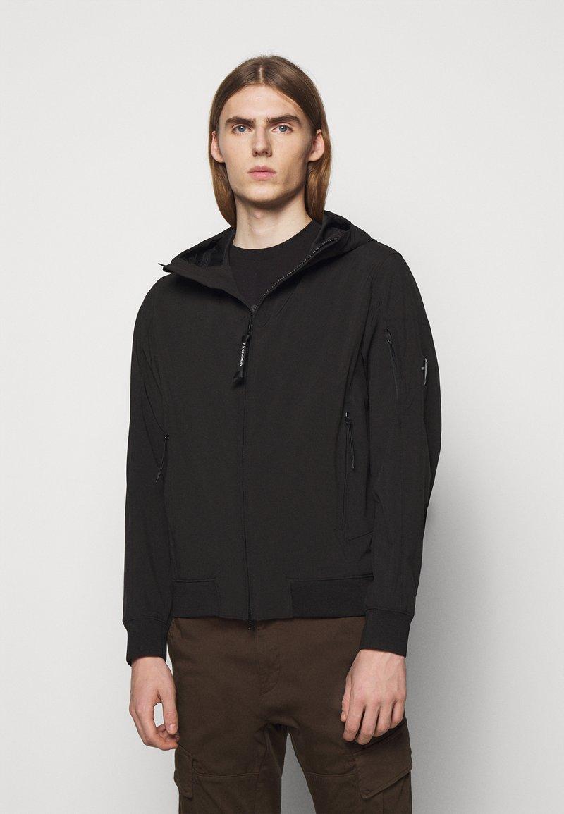C.P. Company - OUTERWEAR SHORT JACKET - Lehká bunda - black