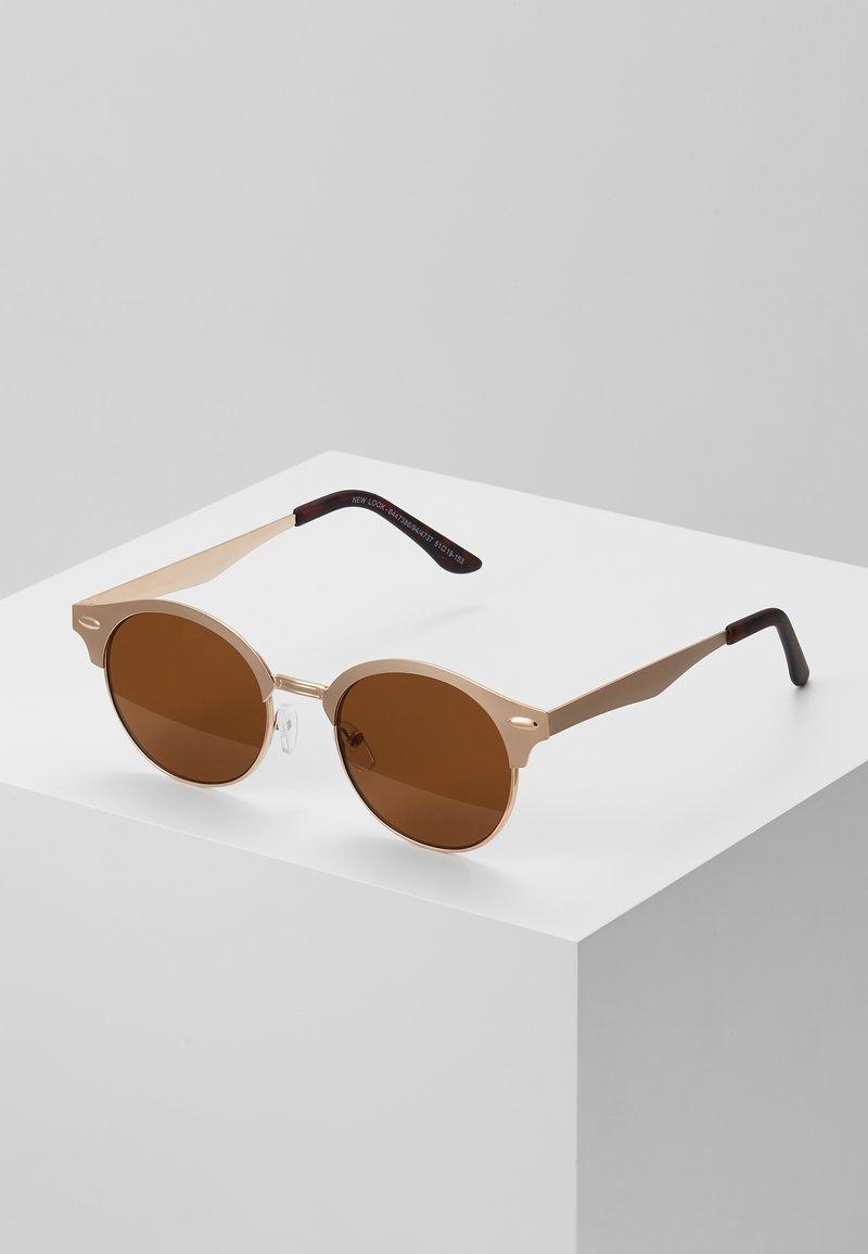 New Look - CLUB - Sluneční brýle - rose/gold-coloured