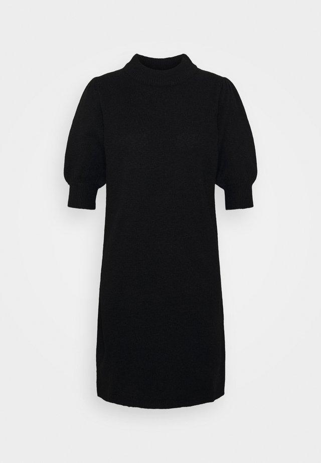 JDYRUE  - Pletené šaty - black