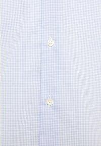 Tommy Hilfiger Tailored - MINI CHECK SLIM FIT - Shirt - light blue/white - 5