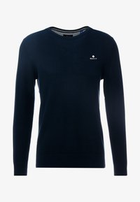 GANT - C NECK - Neule - evening blue - 3