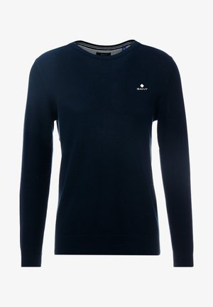 C NECK - Maglione - evening blue