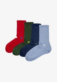 Natural Vibes - BIO SOCKEN 4 PACK - Socks - multi coloured - 3