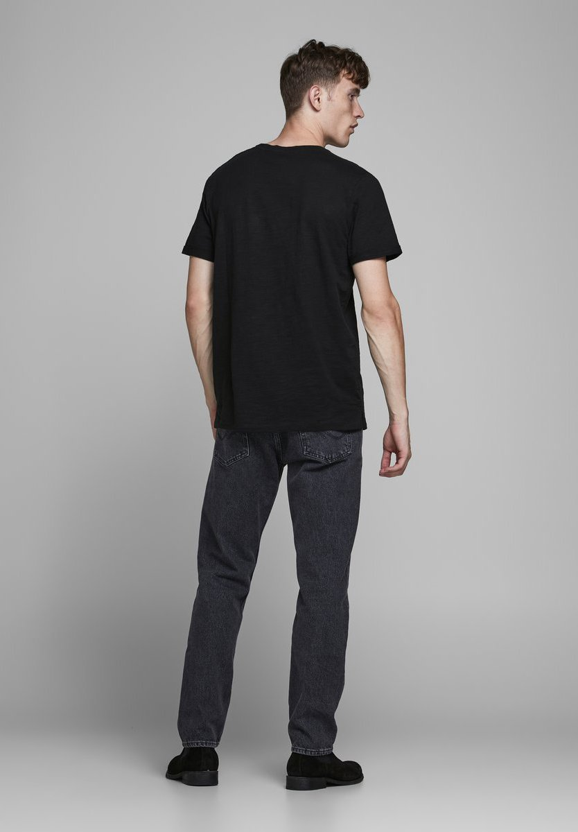 Jack & Jones PREMIUM Print T-shirt - black 53xoB
