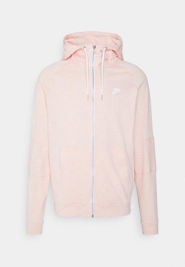 Zip-up hoodie - arctic orange