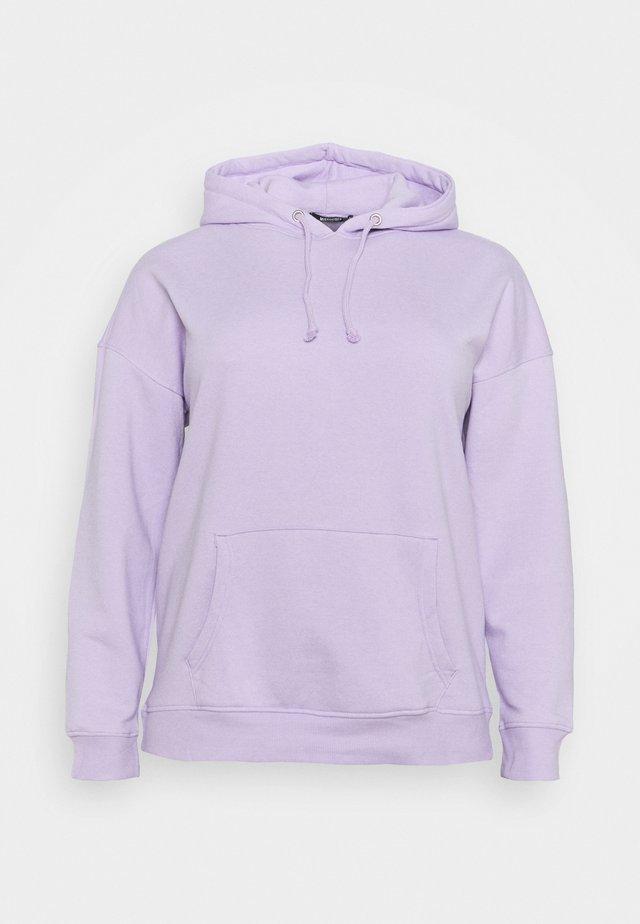 PLUS BASIC HOODIE - Sudadera - lilac