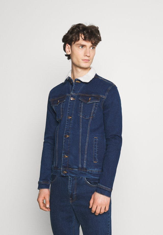 KASH JACKET - Spijkerjas - dark blue