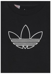adidas Originals - OUTLINE TEE - T-shirt con stampa - black - 3