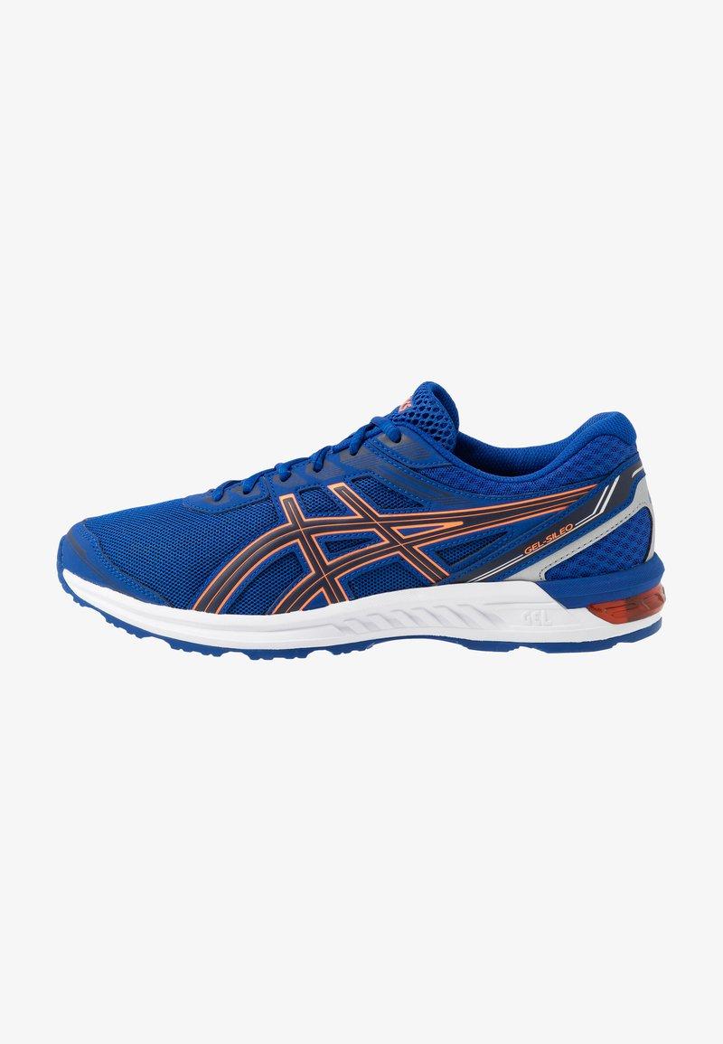 ASICS - GEL-SILEO - Obuwie do biegania treningowe - blue/peacoat
