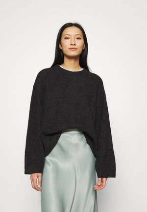 SWEATER - Trui - dark grey melange