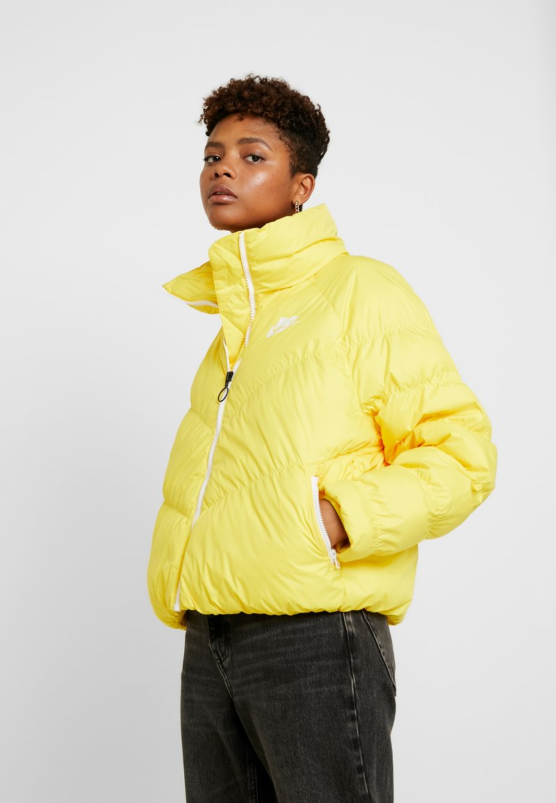 Nike Sportswear - SYN FILL - Winter jacket - chrome yellow/white